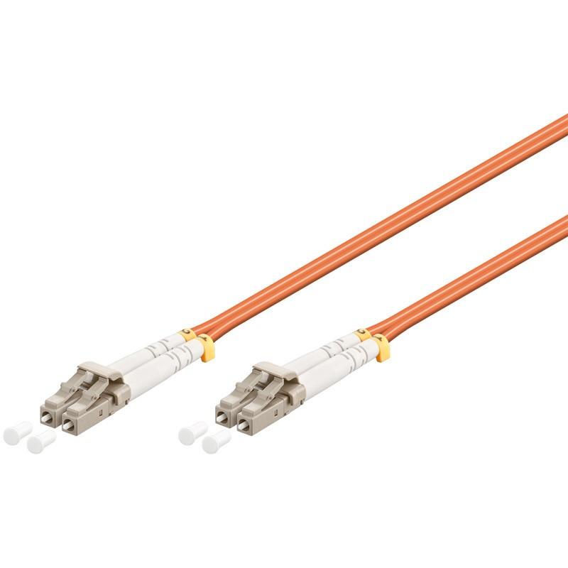 Afbeelding van Glasvezel kabel LC-LC OM2 (laser optimized) 0.5 m