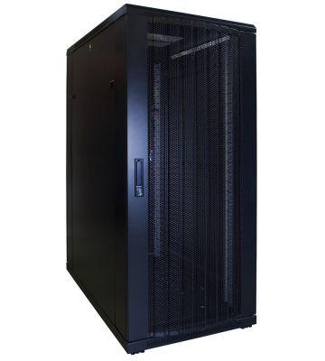 27U Patchkast met geperforeerde deur 600x1000x1400mm (BxDxH)