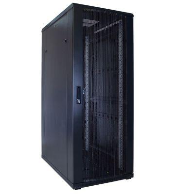 32U Patchkast met geperforeerde deur 600x1000x1600mm (BxDxH)