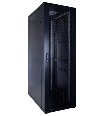 37U Patchkast met geperforeerde deur 600x1000x1800mm (BxDxH)