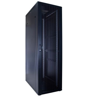 42U Patchkast met geperforeerde deur 600x1000x2000mm (BxDxH)