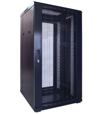 22U Patchkast met geperforeerde deur 600x600x1200mm (BxDxH)