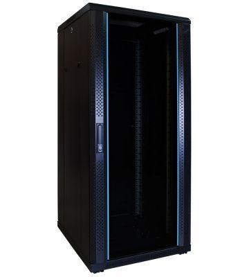 27U Patchkast met glazen deur 600x600x1400mm (BxDxH)