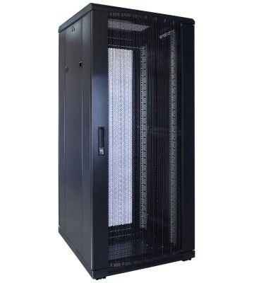 27U Patchkast met geperforeerde deur 600x600x1400mm (BxDxH)