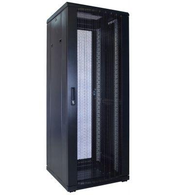 32U Patchkast met geperforeerde deur 600x600x1600mm (BxDxH)