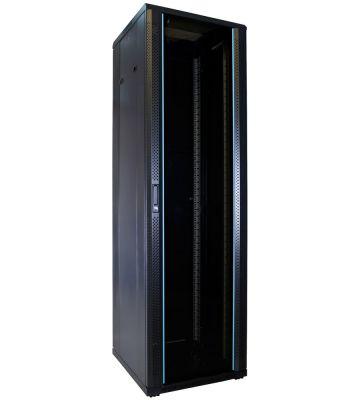 42U Patchkast met glazen deur 600x600x2000mm (BxDxH)