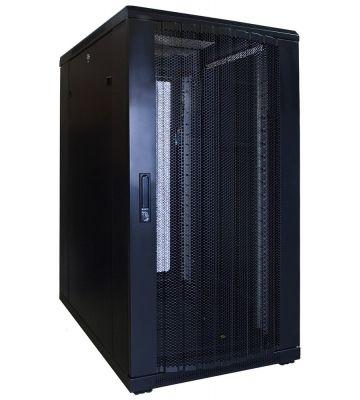 22U Patchkast met geperforeerde deur 600x800x1200mm (BxDxH)
