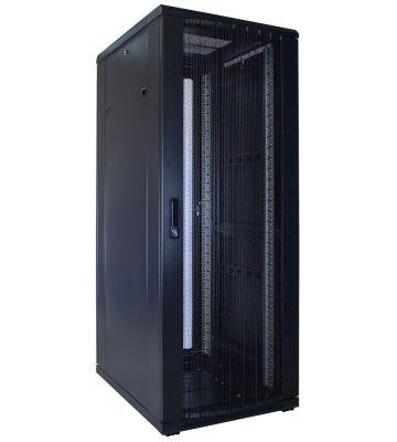 32U Patchkast met geperforeerde deur 600x800x1600mm (BxDxH)
