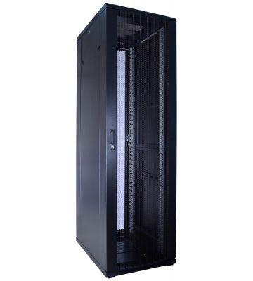 42U Patchkast met geperforeerde deuren 600x800x2000mm (BxDxH)