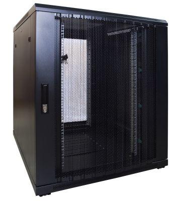 18U Patchkast met geperforeerde deur 800x1000x1000mm (BxDxH)