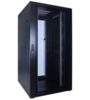 32U Patchkast met geperforeerde deur 800x1000x1600mm (BxDxH)
