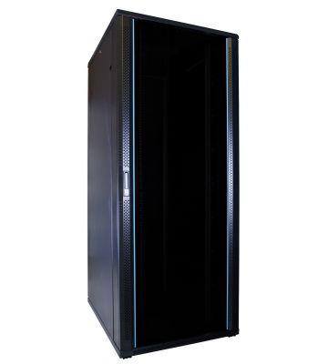 47U Patchkast met glazen deur 600x800x2200mm (BxDxH)
