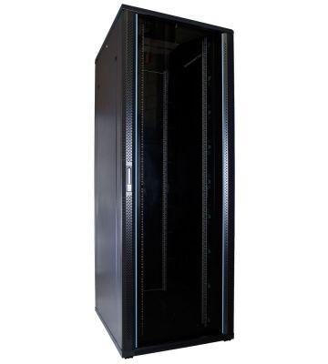 47U Patchkast met glazen deur 800x1000x2200mm (BxDxH)