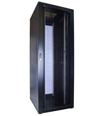 47U Patchkast met geperforeerde deur 800x1000x2200mm (BxDxH)