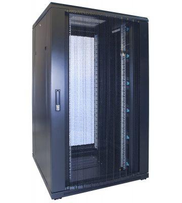 27U Patchkast met geperforeerde deur 800x800x1400mm (BxDxH)