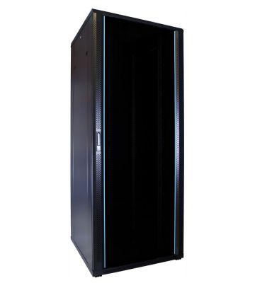 42U Patchkast met glazen deur 800x800x2000mm (BxDxH)