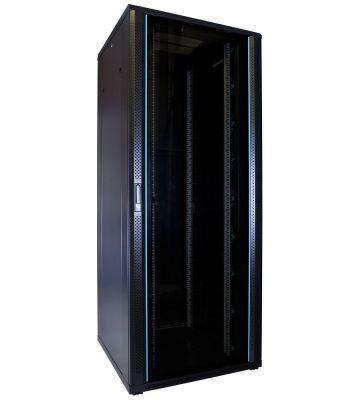 47U Patchkast met glazen deur 800x800x2200mm (BxDxH)