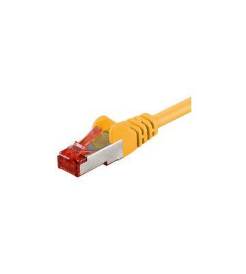 CAT6 SSTP/PIMF 0,25m geel