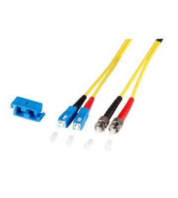 OS2 duplex glasvezel kabel SC-ST 15m