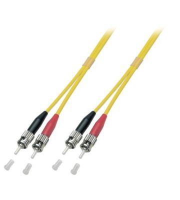 OS2 duplex glasvezel kabel ST-ST 2m