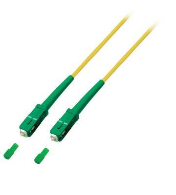 OS2 simplex glasvezel kabel SC/APC-SC/APC 2m