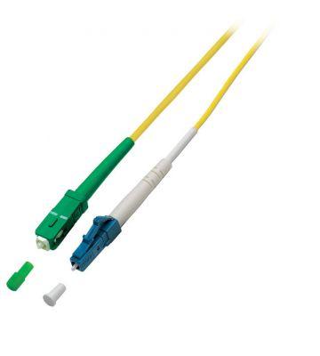 OS2 simplex glasvezel kabel SC/APC-LC 1m