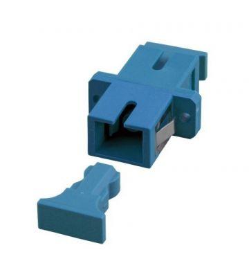 Singlemode koppeling SC-SC simplex blauw