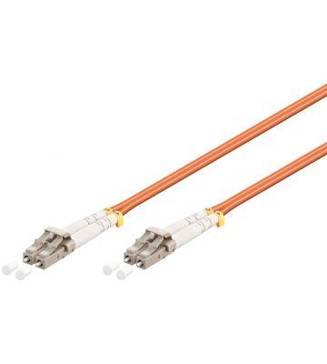 Glasvezel kabel LC-LC OM2 (laser optimized) 1 m