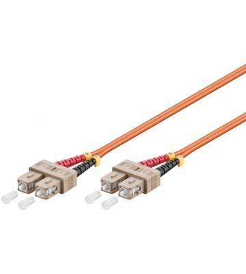 Glasvezel kabel SC-SC OM2 (laser optimized) 0.5 m