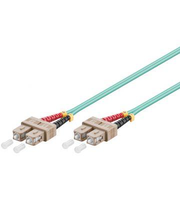 Glasvezel kabel SC-SC OM3 (laser optimized) 7,5 m