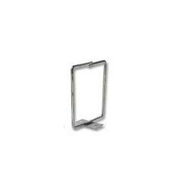 Kabelhouder van metaal, schroef-montage, 40 x 40 mm