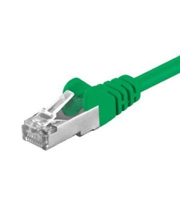 CAT5e FTP 0,25m groen