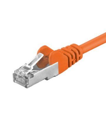 CAT5e FTP 0,5m oranje