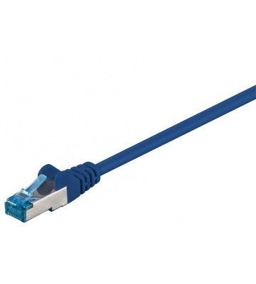 CAT6a SSTP/PIMF 0,25m blauw