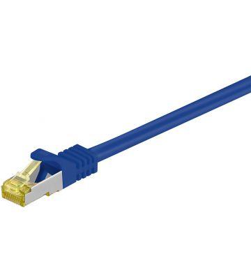 Cat7 SFTP/PIMF 50m blauw