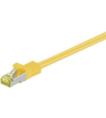 Cat7 SFTP/PIMF 10m geel