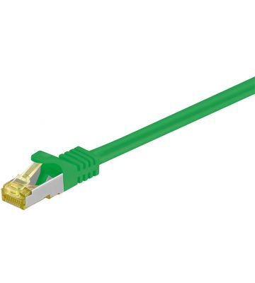 Cat7 SFTP/PIMF 10m groen