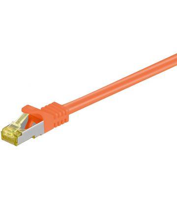 Cat7 SFTP/PIMF 2m oranje