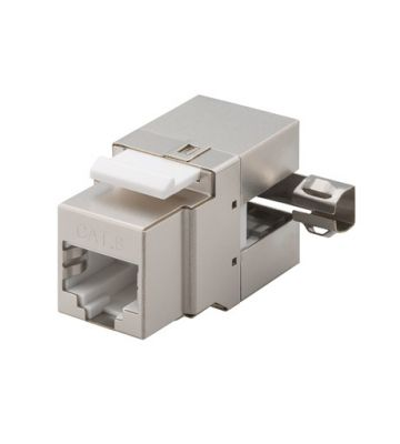 CAT6 STP Keystone Connector - Toolless Angled