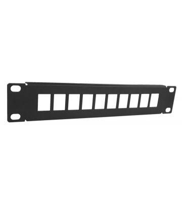 UTP patchpaneel voor keystones - 10 poorts