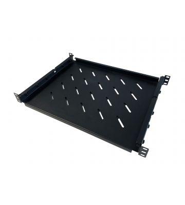 Verstelbaar legbord van 350mm tot 590mm diepte voor serverkast, max. 60 kg