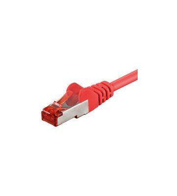 CAT6 SSTP/PIMF 7,50m rood