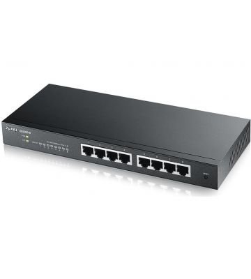 Zyxel 8-poorts GS1900 smart managed switch