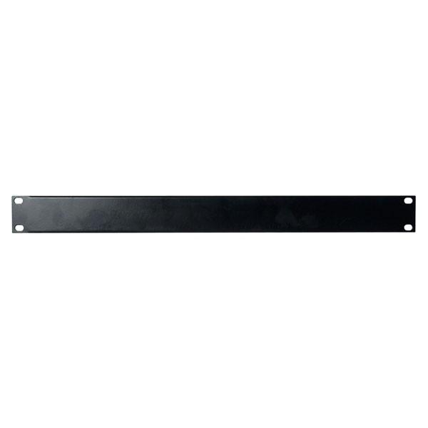 Afbeelding van 1 U 19 inch afdekpaneel in zwart voor patchkasten
