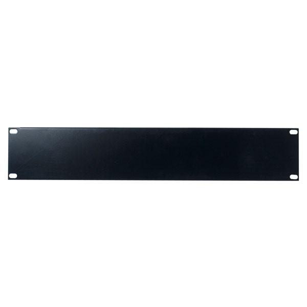 Afbeelding van 2 U 19 inch afdekpaneel in zwart voor patchkasten