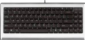 Afbeelding van Mini toetsenbord USB, USA/Nordic-layout, zwart/zilver, voor 19 inch kasten