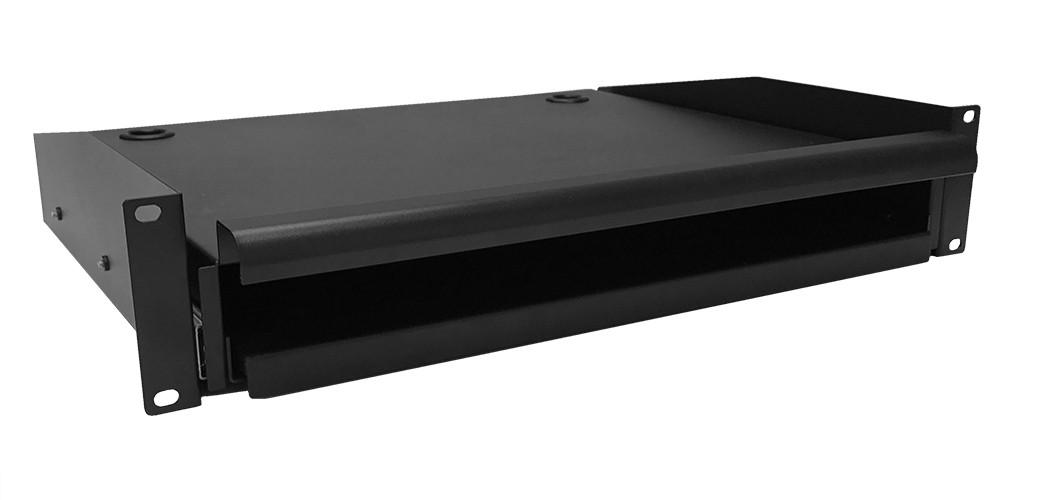 Afbeelding van Uitschuifbaar toetsenbord- en muisplank voor alle patchkasten, max. 18 kg