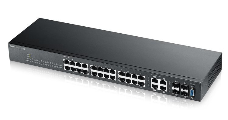 Afbeelding van Zyxel 24-poorts GS2210 managed switch