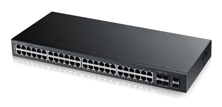 Afbeelding van Zyxel 48-poorts GS2210 managed switch