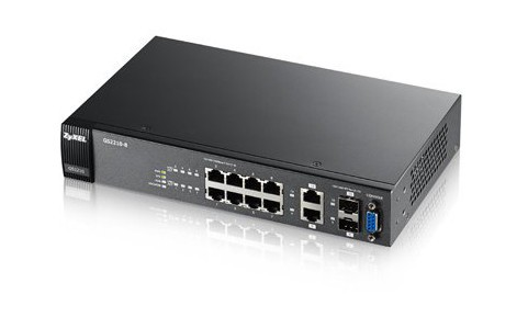 Afbeelding van Zyxel 8-poorts GS2210 managed switch
